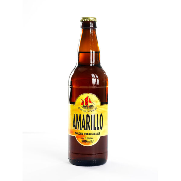 Bottle of Amarillo Ale