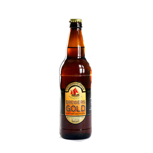 Bottle of Brewers Gold Beer
